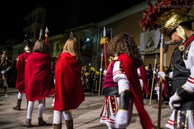 Soldados Romanos (socios) de Tobarra en el Prendimiento