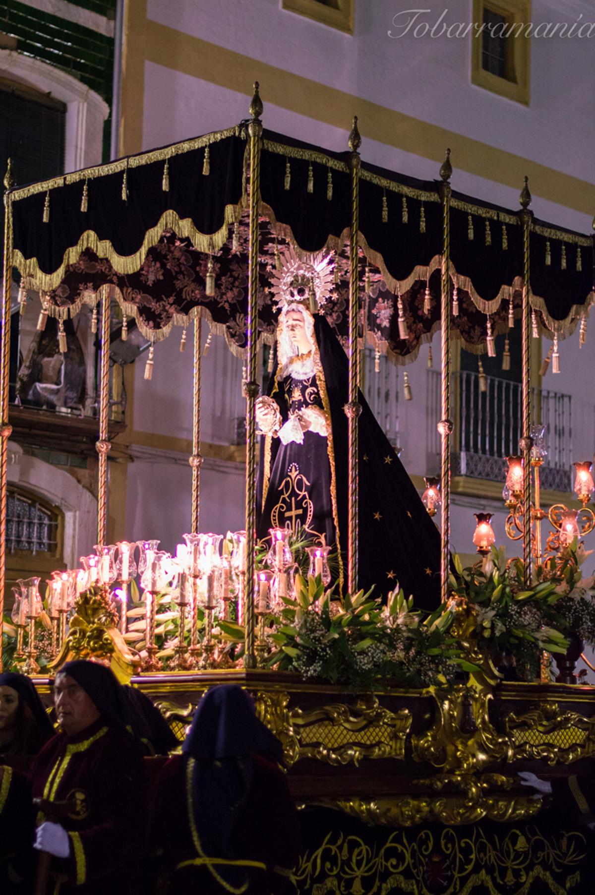 Virgen de la Soledad. Tobarra