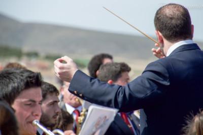 banda de música Tobarra en la Bendición del Calvario