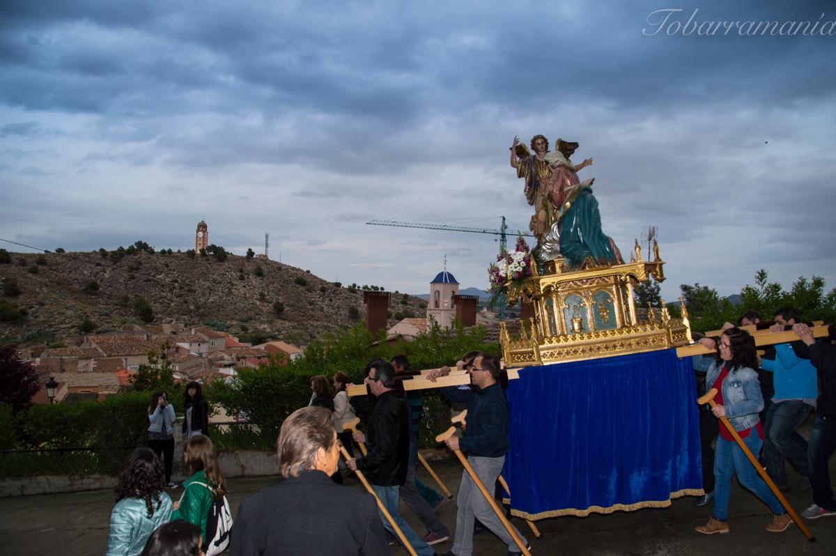 Bajada del Cristo Tobarra.