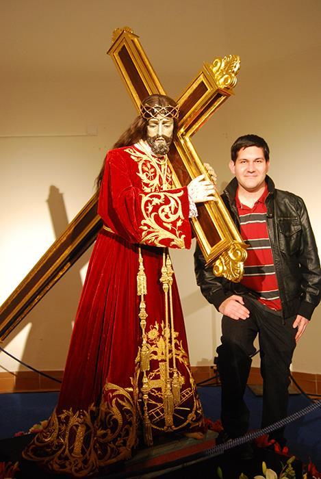 José Rafael Navarro y el Nazareno de Tobarra