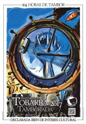 Cartel Tamborada Tobarra 2017