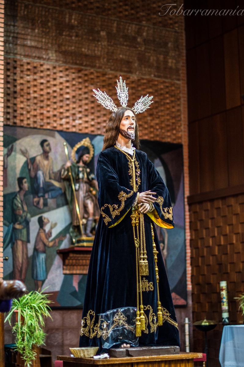 Jesús del Paso expuesto en San Roque. Tobarra