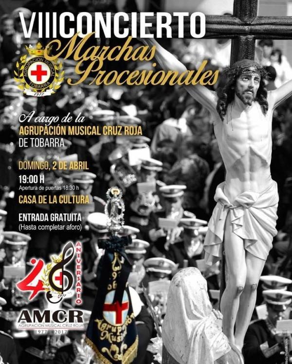 VIII Conrcierto marchas de procesión Cruz Roja Tobarra