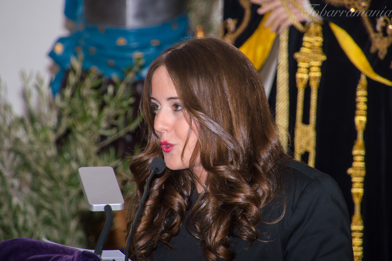 Patricia Paterna, presentadora del Pregón de Semana Santa de Tobarra 2017