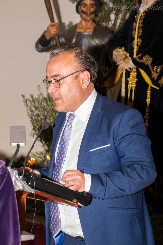 Pio Bernabeu. Alcalde de Tobarra. Pregón 2017