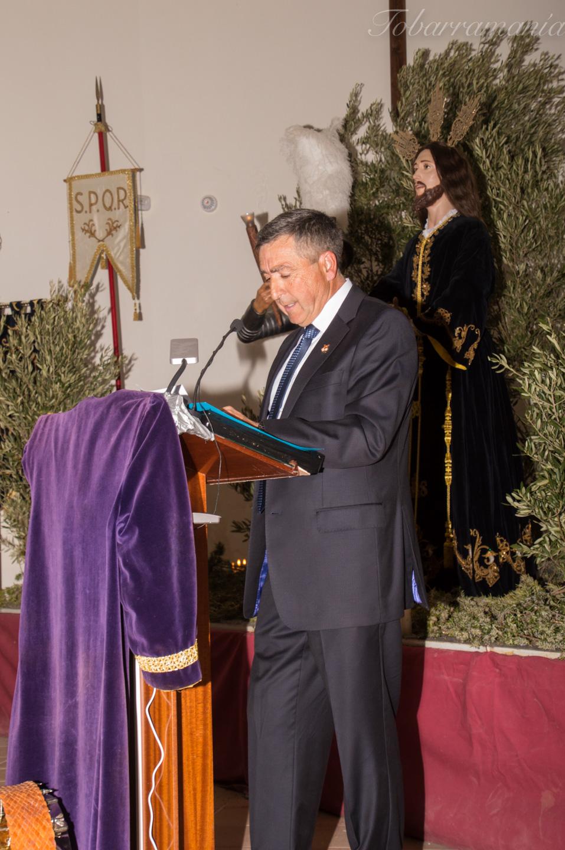 José Manuel Vizcaíno. Presidente Federación Cofradías Tobarra