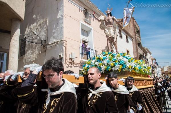 Cristo Resucitado Tobarra Semana Santa 2017