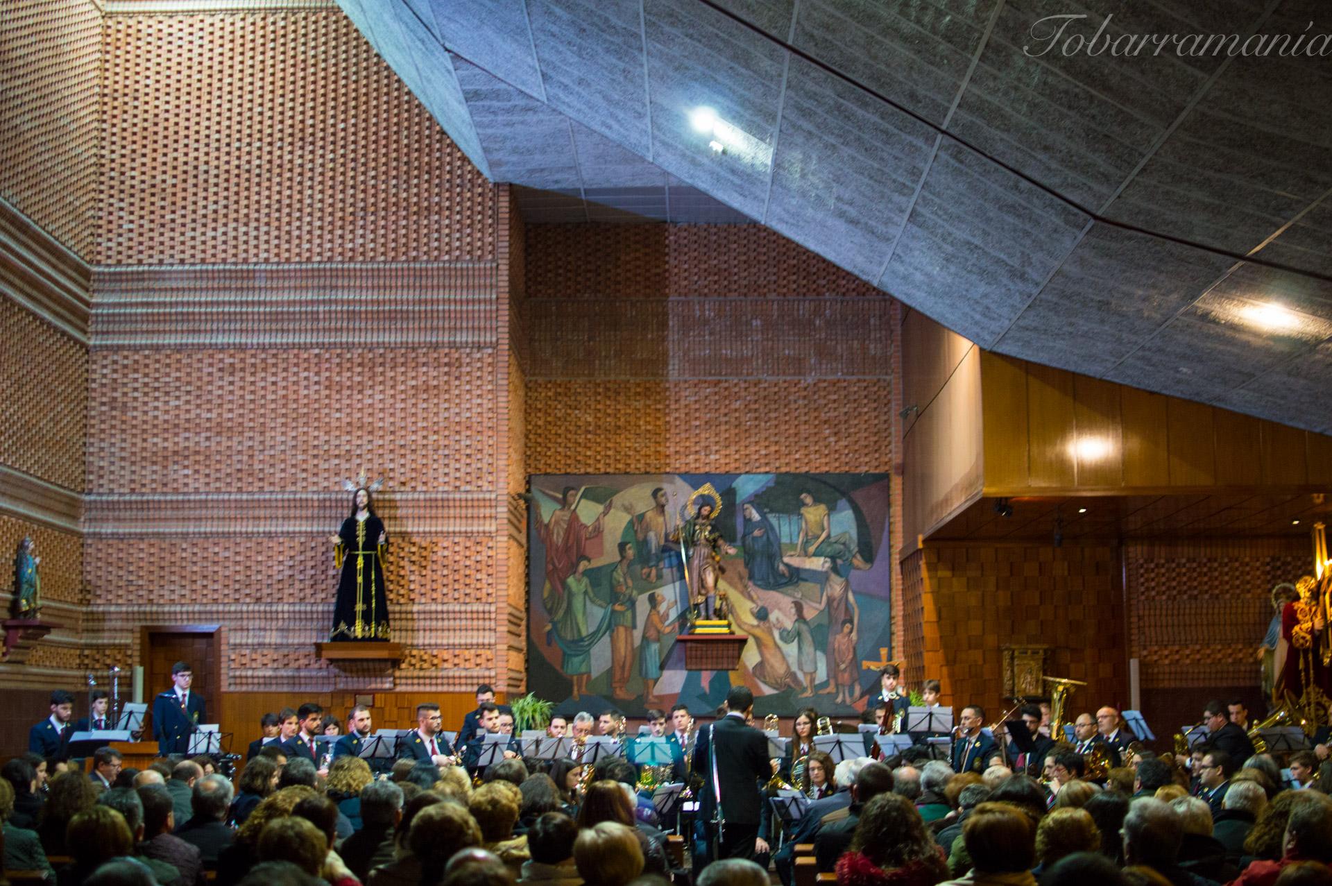 Concierto de Cuaresma 2018. Unión Musical Santa Cecilia. Tobarra