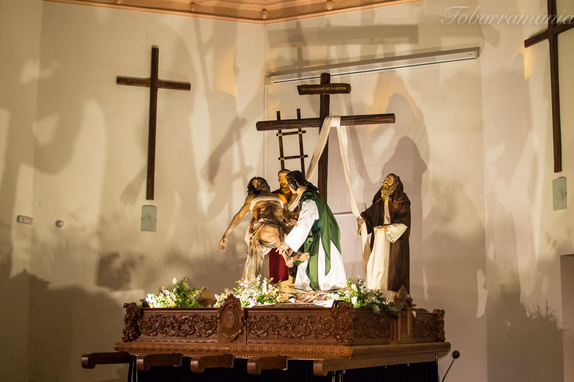 Presentación del Trono del Descendimiento. Tobarra